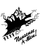 Nunsense A-men logo